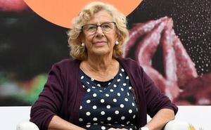 Manuela Carmena abandona el hospital