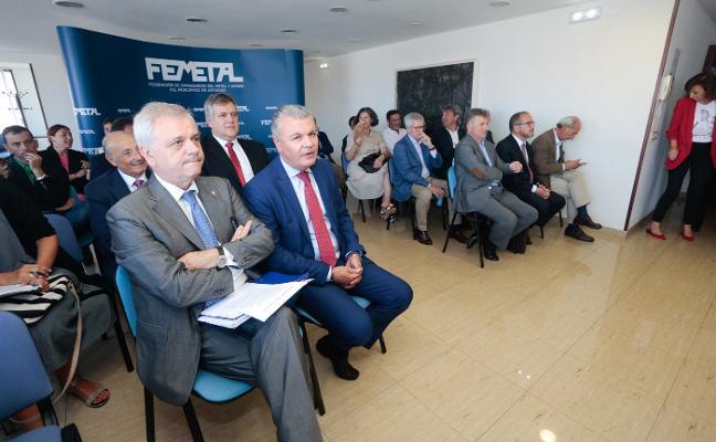 Ulacia advierte de que el coste de la energía «aumenta la vulnerabilidad» de las empresas
