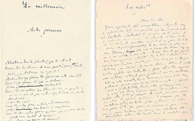 El Clarín inédito y manuscrito, a subasta
