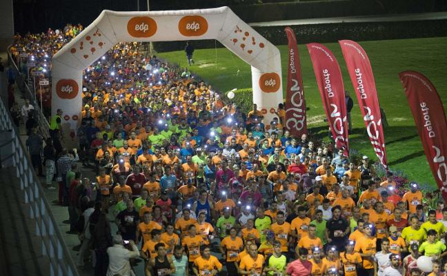 Último esprint para inscribirse en la EdP Carrera Nocturna Gijón 10k