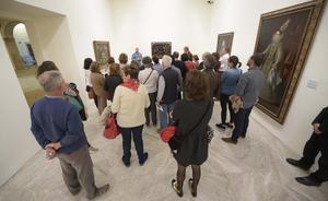 El Bellas Artes lleva sus estampas de Goya a La Caridad