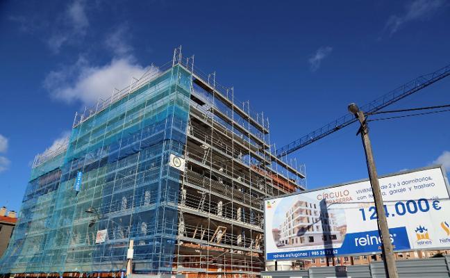 Siero cuadruplica el número de nuevas viviendas en el primer semestre del año