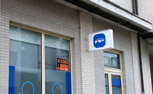 El PP de Noreña cierra su sede ante la imposibilidad de mantener el alquiler