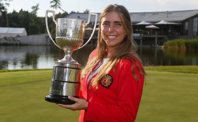La golfista española Celia Barquín muere apuñalada en Estados Unidos