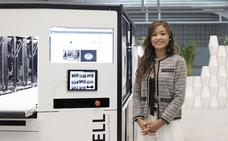 «Estamos trabajando en una máquina para imprimir alimentos con probióticos»