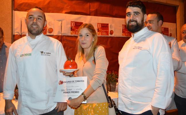 Corias tiene los mejores tomates de Asturias y Limés el más grande