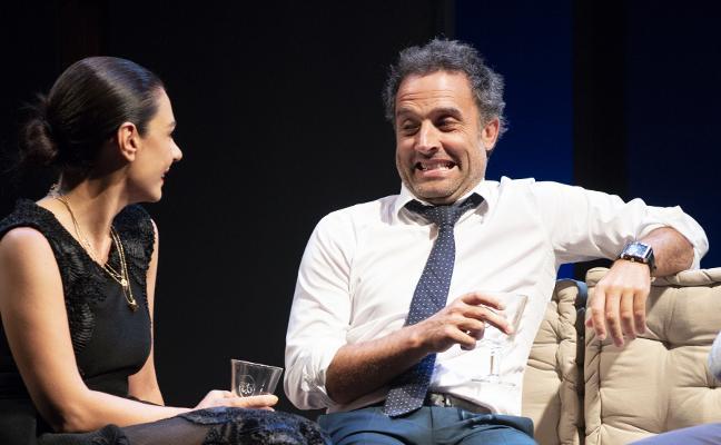 Daniel Guzmán y Miren Ibarguren protagonizan un enredo de parejas en el Teatro Filarmónica