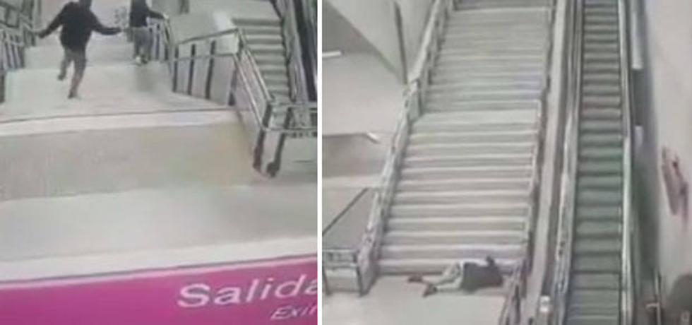 Las prisas, el metro, las escaleras y....