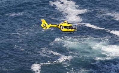 Rescatan el cadáver de un vecino de Langreo que se cayó al mar en el Cabo Peñas