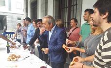Wenceslao López afirma que pese a los «agoreros», San Mateo es un «éxito»