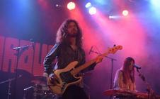 Nueva noche de rock en la plaza Feijoo
