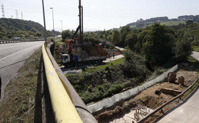 Reactivada la obra de la autovía a El Musel