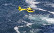 Recuperan el cadáver de un hombre que cayó a la mar en Cabo Peñas