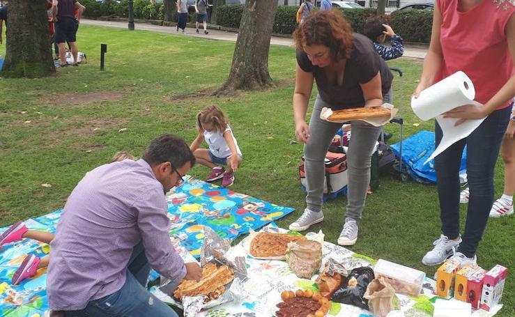Día grande de las fiestas de San Mateo en Oviedo
