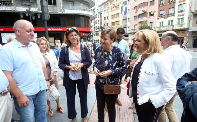 Carmen Moriyón pide «más cultura de gobierno en coalición»