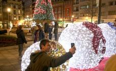 El Ayuntamiento asumirá por primera vez el coste íntegro de la iluminación navideña