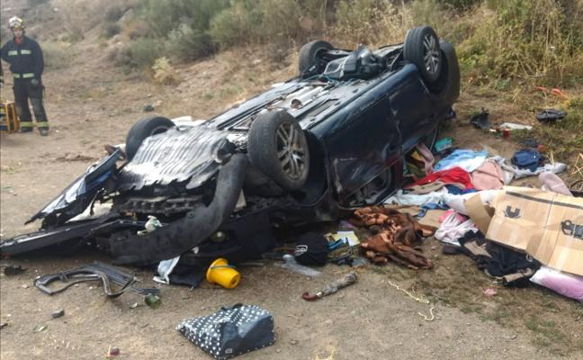 Fallece un avilesino tras salirse de la vía en la autopista del Huerna