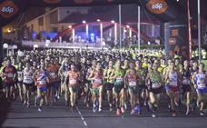 Moha Bakkali se impone en la Carrera EdP Nocturna Gijón 10K