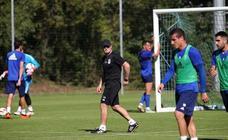 Entrenamiento del Real Oviedo (22-09-2018)