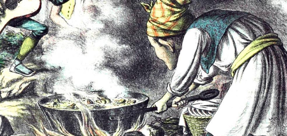 La paella, plato nacional al menos desde 1883