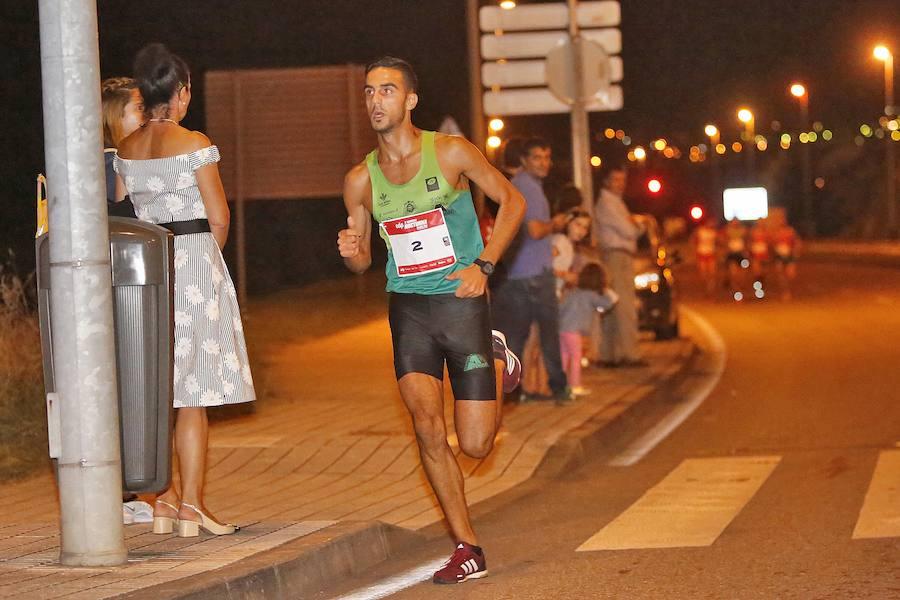 Emocionante llegada de la II EdP Carrera Nocturna Gijón 10K