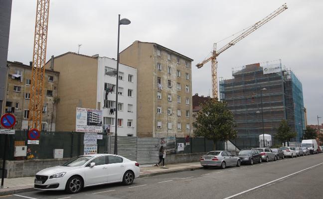 El lento despertar en la ciudad del sector de la construcción