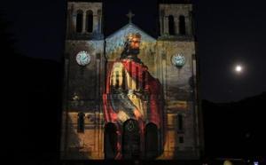 Trece siglos de historia proyectados sobre la basílica de Covadonga