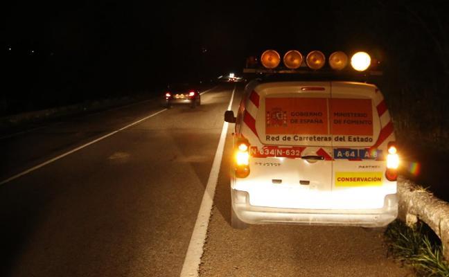 Un choque en cadena entre tres coches en Lieres deja cuatro heridos leves