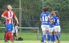 El Real Oviedo se lleva el derbi y el liderato