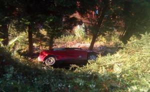 Dos heridos en un accidente de tráfico en Ribadesella