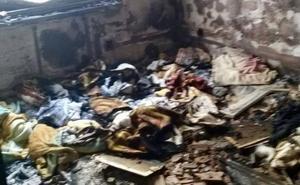 Dos familias desalojadas por el incendio de una vivienda en Ribadesella