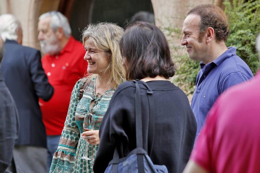 Las caricaturas de Evaristo Valle en EL COMERCIO se muestran en Gijón