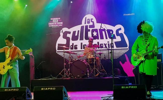 Los Sultanes de la Galaxia ganan la XXI edición del concurso de Rock