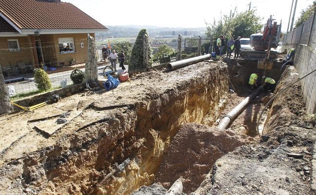 800.000 euros para renovar la tubería de Cuyences, la obra que solo puede hacerse ahora