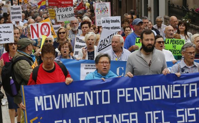 Las pensiones suponen el 20% del PIB de Asturias, seis puntos más que hace una década