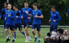 Entrenamiento del Real Oviedo (24-09-2018)