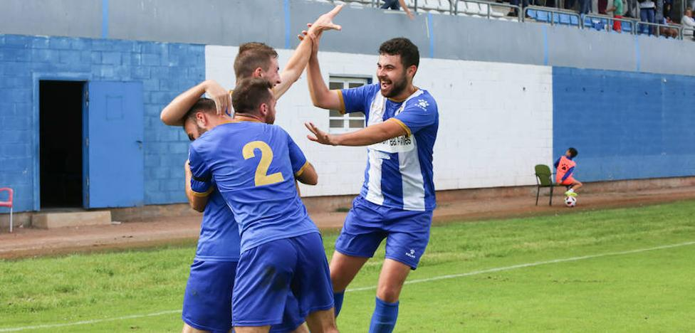 El Avilés se queda corto en su victoria ante el Madalena (1 - 0)
