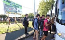 Una avería en la catenaria deja a los viajeros de un tren entre Los Campos y Nubledo más de una hora