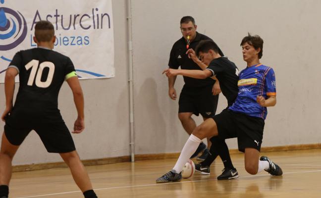 El Asturclín Yesos Castaño Indoor debuta en la élite juvenil