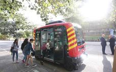Erica, el autobús sin conductor catalán comienza a circular