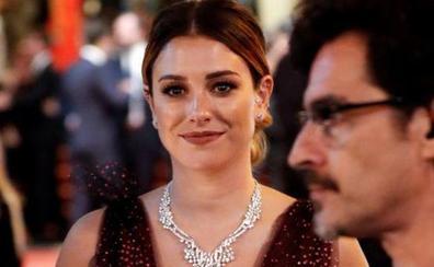 El vestido con el que Blanca Suárez deslumbró en la alfombra roja de San Sebastián