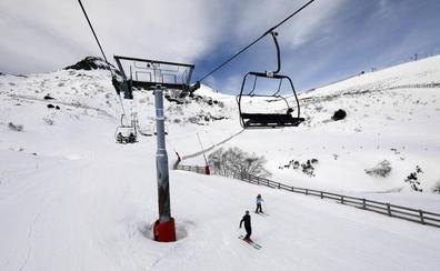 La temporada de esquí, del 30 de noviembre al 24 de abril