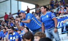 El precio de las entradas hace que las peñas del Real Oviedo no viajen a Alcorcón