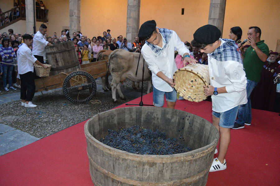 Cangas del Narcea festeja la vendimia