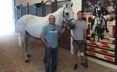 Sergio Álvarez Moya dice adiós a 'Carlo', su mejor caballo