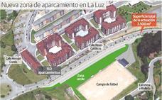 Adjudicadas en 134.785 euros las obras del nuevo aparcamiento de La Luz