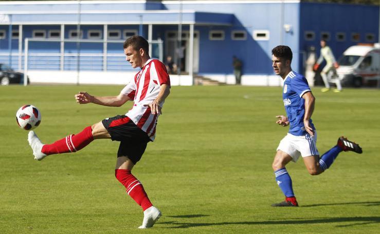 El Oviedo B 2-1 Bilbao Athletic, en imágenes