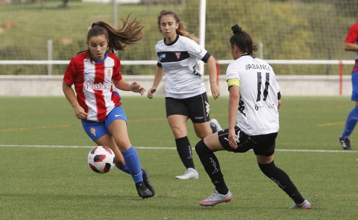 Las imágenes del Sporting Femenino 2-1 Victoria CF