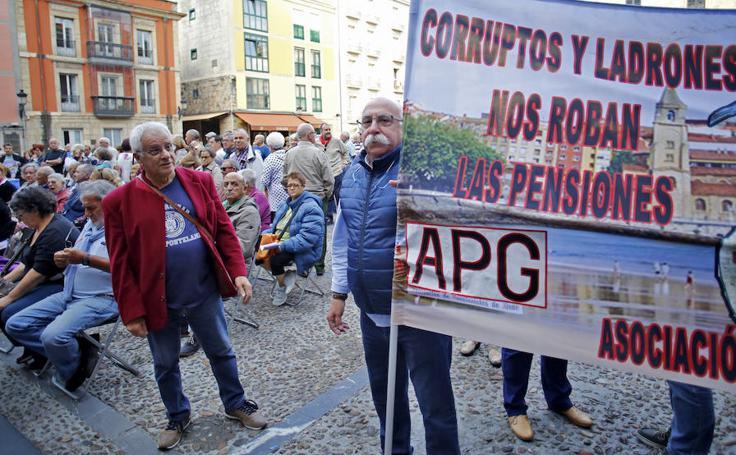 Los pensionistas retoman las movilizaciones en Gijón