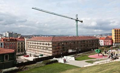 Las obras de consolidación de Tabacalera acabarán en enero